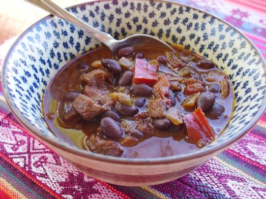 Chili Sin Carne Al Mole
