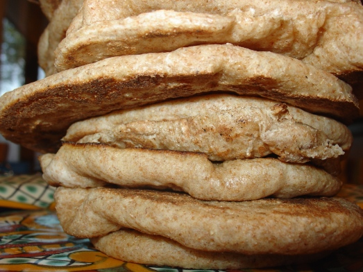 The Leaning Tower of Pita Bread