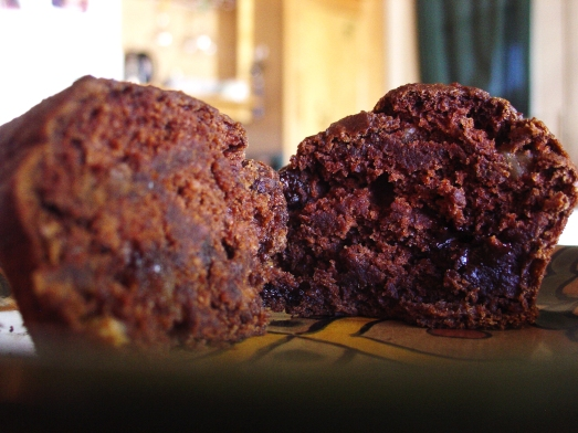 Chocolate Pumpkin Muffin
