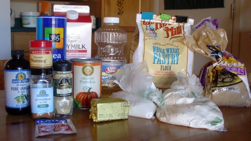 Cinnamon Rolls - Ingredients