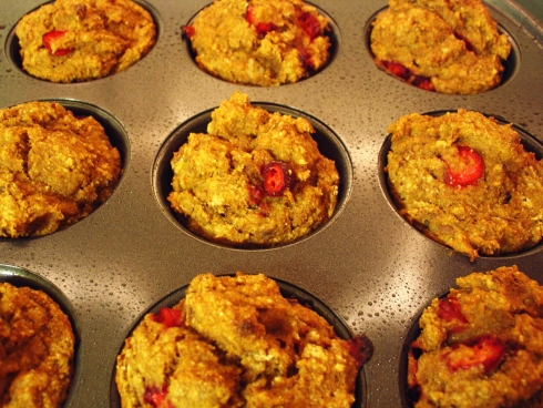 Pumpkin Everything Muffins, baked and ready to devour.